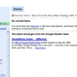 Google Reader – Just got better