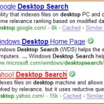 "Search for ""Desktop Search"""