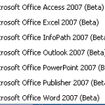 Office 2007 Beta 2 Released