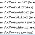Office 2007 Beta 2 Released