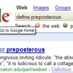 Definition Search in Google