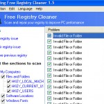 Eusing – Free Registry Cleaner