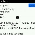 MMS Configuration on Blackberry
